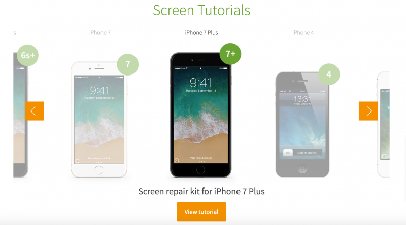 iphone screen repair tutorial giga fixxoo