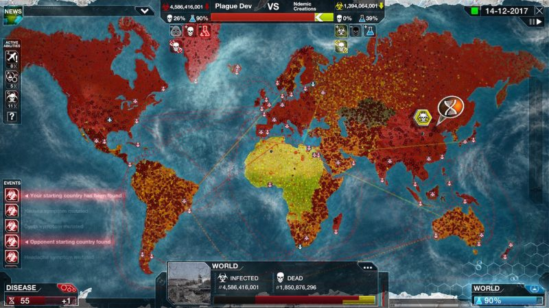 Game, Strategy, iOS, Apple, Plague Inc, Mobile, Smartphone