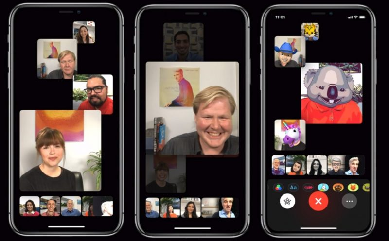 apple announcements wwdc2018 Apple FaceTime