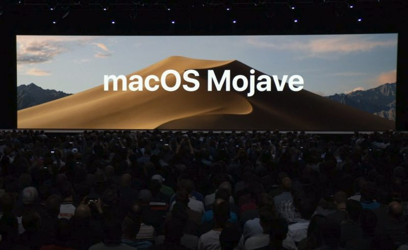 New Apple MacBook Mojave
