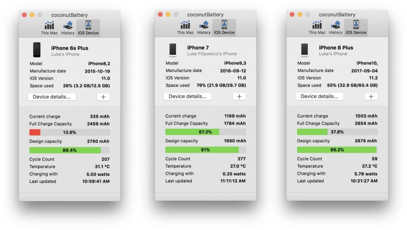 iPhone Healthy Battery Test