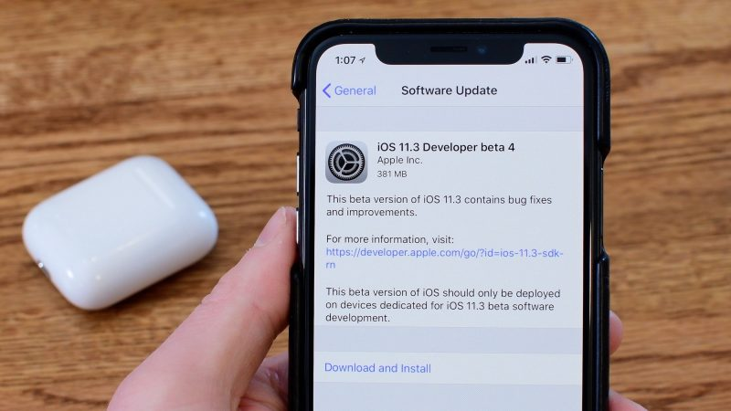 Update iOS Software