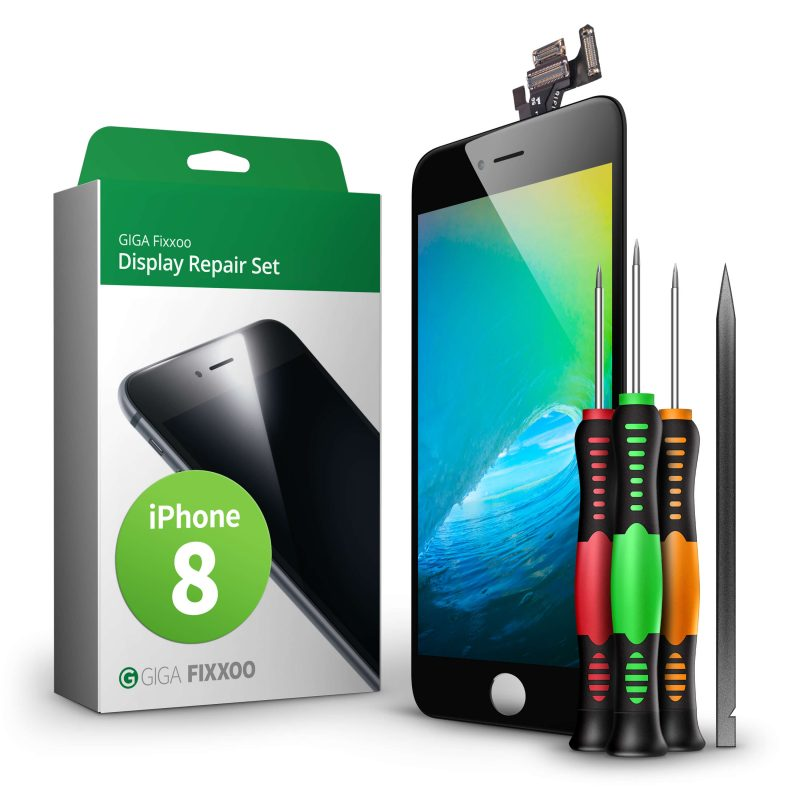 Giga Fixxoo iPhone 8 & iPhone 8 Plus Screen Repair Kit - click to purchase