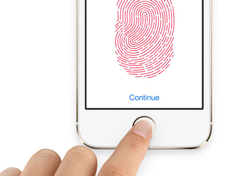 apple iphone safe healthy touch id